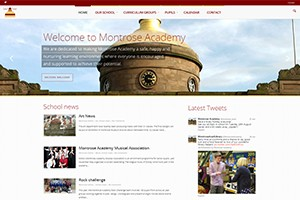 Montrose Academy Website