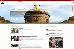 Montrose Academy Website